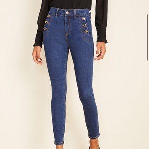 NWT high rise Ann Taylor skinny jeans